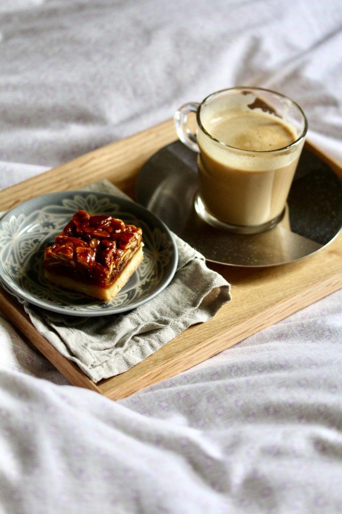 Honey florentine shortbread cookies with coffee l Wild Reverie, by Amanda l Singapore