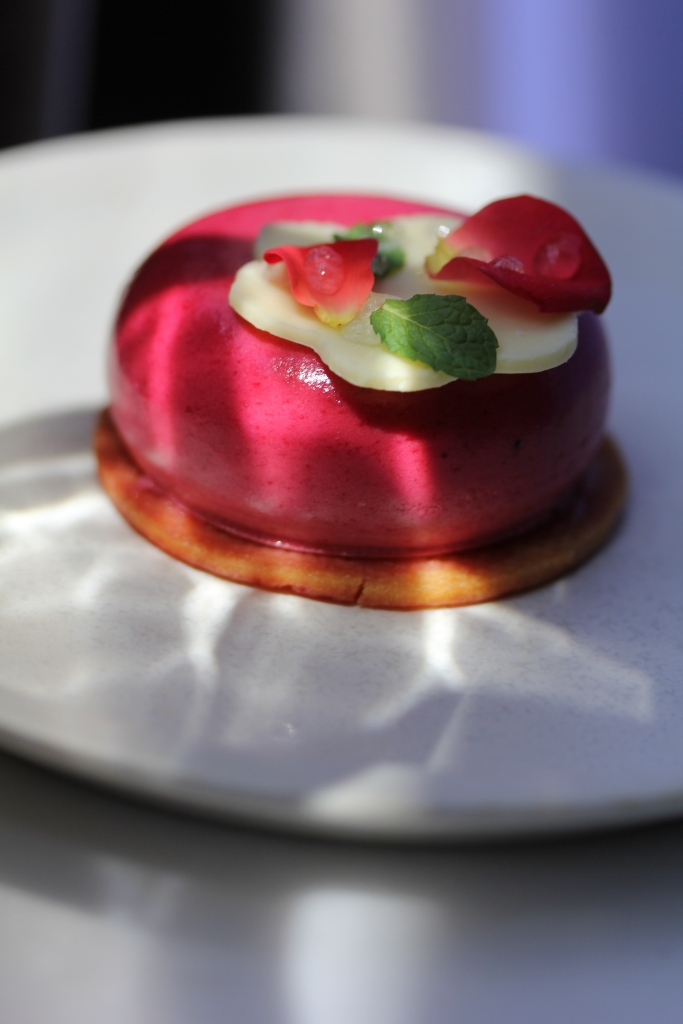 Raspberry mousse cake - part of my bake sale menu available to Singapore customers only